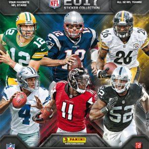 Caja de estampas NFL 2017