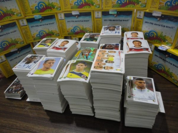 Estampas sueltas Mundial de Brasil 2014