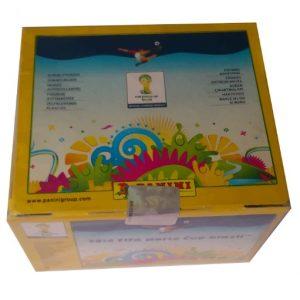 Caja de estampas Mundial Brasil 2014