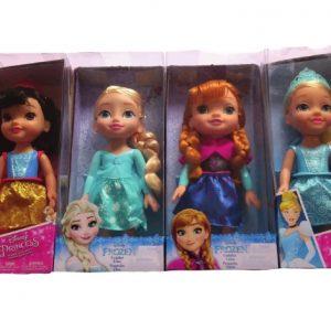 pequeñas princesas disney