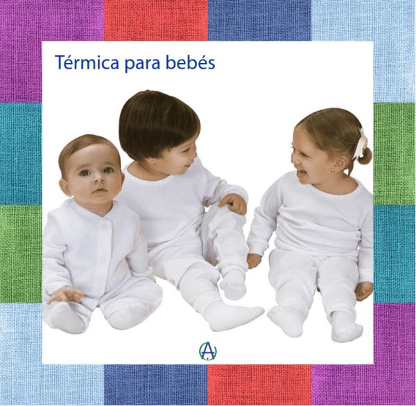 Pijama térmica para bebé