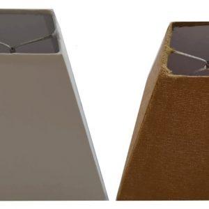 Pantalla triangular para lámpara de Buró