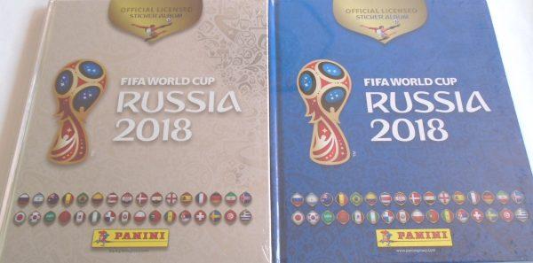 Álbum pasta dura Mundial Rusia 2018