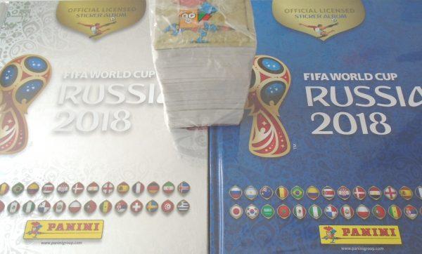 Álbum Completo Mundial Rusia 2018