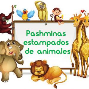 Pashmina de animales