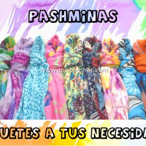 Paquetes de Pashminas surtidas