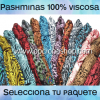 Paquetes Pashmina Viscosa
