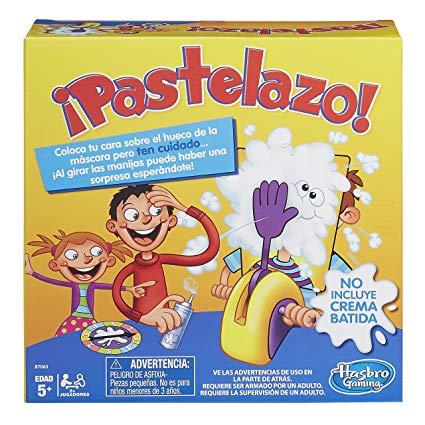Juego Mesa Clásico Pastelazo De Hasbro VMqzSUpG