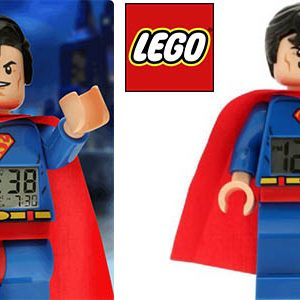 Lego Superman Reloj Despertador