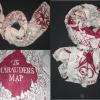 Pashmina mapa Harry Potter