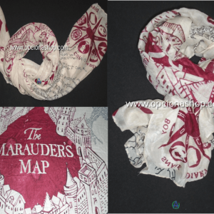 Pashmina mapa Harry Potter