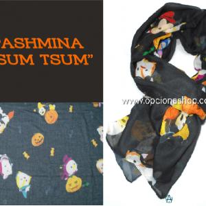 Pashmina Disney Tsum Tsum