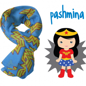 Pashmina Wonder Woman
