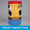 Dulcero personalizado Woody