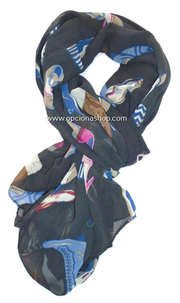 pashmina zapatillas