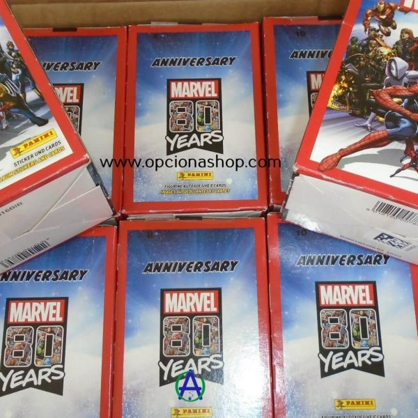 Panini 80 años Marvel sticker /& cards todos sticker y CARDS para elegir