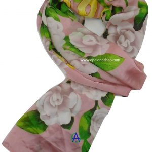 pashmina chanel floreada