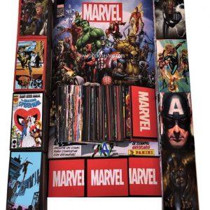Estampas sueltas Marvel 80 aniversario