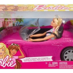 Barbie y carro convertible