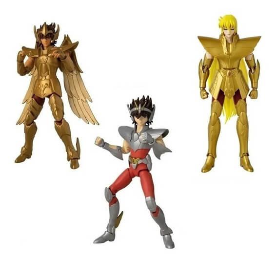 Anime Héroes 3 figuras