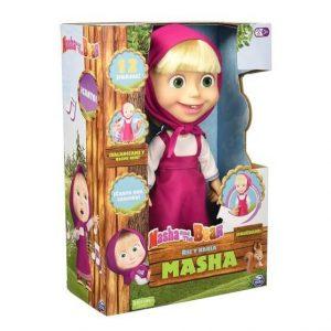 Masha rie y habla