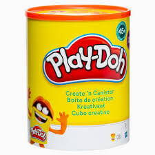 Play doh Lata