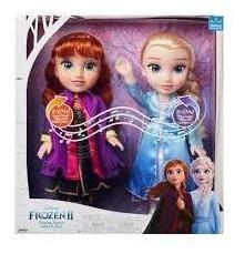 Anna y Elsa hermanas cantantes