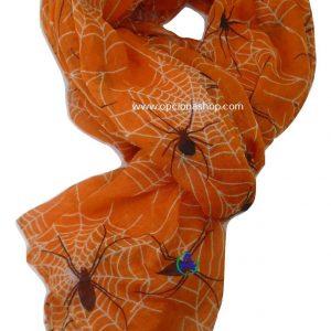 Pashmina arañas en telarañas