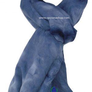 Pashmina difuminado azul